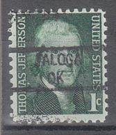 USA Precancel Vorausentwertung Preo, Locals Oklahoma, Taloga 841 - United States