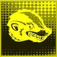 """Crypto-Stamp 2.0  Honigdachs """"gelb"""" - Nominale 700 Cents - 4.000 Auflage Gesamt ** IM POSTSHOP BEREITS VERGRIFFEN - 2011-... Nuovi & Linguelle"""