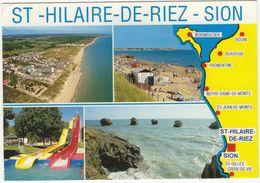 Saint-Hilaire-de-Riez - Sion: Les Becs Et Les Mouettes, Plage De La Pège, Le Toboggan, Les Cinq Pineaux - Saint Hilaire De Riez