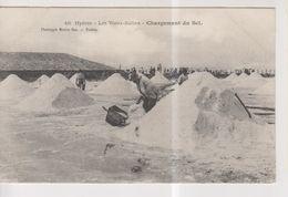 CPA-83-Var- HYERES- Les Vieux-Salins- Chargement Du Sel- - Hyeres