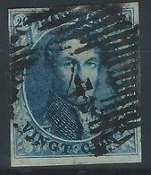 OO-/-1044.- N° 4, Obl. ,  Cote 65.00 € , FILIGRANE LL Avec CADRE - TB - Voir Les Scans Pour Detail !! - 1849-1850 Medallions (3/5)