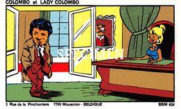 Radiokaart Colombo Et Lady Colombo Rue De La Pinchoniere - Mouscron - Moeskroen - Mouscron - Möskrön