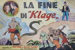 Fumetti Mandrake - La Fine Di Klage  - Ed. 1945 - Unclassified
