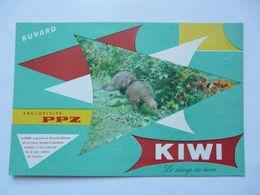 VIEUX PAPIERS - BUVARD : KIWI Cirage - Löschblätter, Heftumschläge