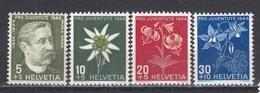 Switzerland 1944 - Pro Juventute, Mi-Nr. 439/42, MNH** - Neufs