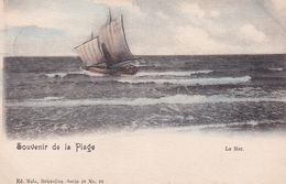 620 Blankenberghe Souvenir De La Plage La Mer - Blankenberge