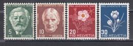 Switzerland 1945 - Pro Juventute, Mi-Nr. 465/68, MNH** - Neufs