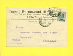 CHIASSO - PUBBLICITARI- PUBBLICITARIA FRATELLI BERNASCONI - TI Tessin