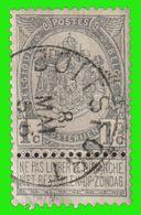 """COB N° 53 - Oblitération """"BOITSFORT"""" - 1893-1900 Schmaler Bart"""