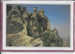 SAINT-MARIN Torre Cesta , Le Chemin De Ronde - Saint-Marin