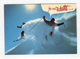 CP °_ Sport -Dans La Poudreuse Je M'éclate - Deportes De Invierno