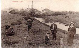 VALLEE DE L'YSER : Feldpost (carte Envoyée Par Un Soldat Allemand) (voir Scans Avec Cachet Du Verso) - Poperinge