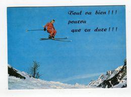 CP °_ Sport -Ski Dans L'air Pourvu Que ça Dure - Sports D'hiver