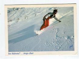 CP °_ Sport -Snowboard Les Bâtons Trop Chers - Sports D'hiver