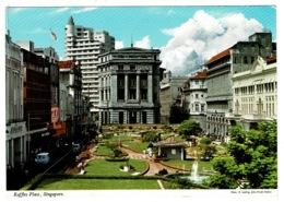Ref 1386 - John Hinde Postcard - Raffles Place - Singapore - Singapore