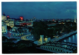 Ref 1386 - Postcard - Anderson Bridge & Empress Place - Singapore - Singapore