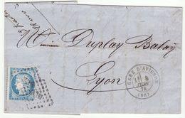 T17 Gare D'Avignon +amb. ML2°/n°60 /LAC 1874 - 1849-1876: Classic Period