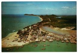 Ref 1386 - Postcard - Kuala Kemaman Fishing Village - Trengganu Malaysia - Malesia