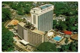 Ref 1386 - Aerial View Postcard - Hotel Merlin Kuala Lumpur - Malaysia - Malesia