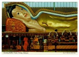 Ref 1386 - John Hinde Postcard - Reclining Buddha Temple - Penang Malaysia - Malesia