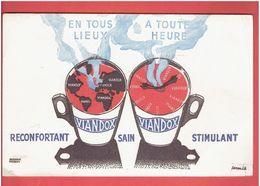 BUVARD VIANDOX DESSIN DE MUCKENS TOUROT - V
