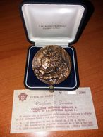 S. Antonio Padova Visita Papa Giovanni Paolo II° 1982 Pontifical State Medaille Papal Medals Medaglie Papali - Autres