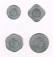 /  MYANMAR  5 -10 -25 - 50 PYAS  1966 - Myanmar