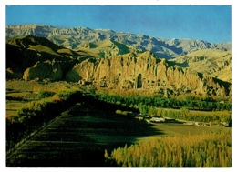 Ref 1385 - Postcard - General View Of Bamiyan Small Bhudda - Afghanistan - Afghanistan
