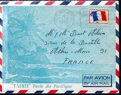 LETTRE FRANCE 1970 - POSTE AUX ARMEES - AFFRANCHISSEMENT TIMBRE DE FRANCHISE MILITAIRE - - Brieven En Documenten