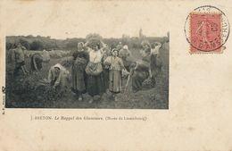 Jules Breton Peintre Né à Courrières. Le Rappel Des Glaneuses . Travail Des Femmes Dans Les Champs . Envoi Villiers 41 - France