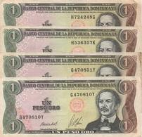Dominica : 1 Peso Oro 1987 (bon état) Prix Par Billet - Dominicana