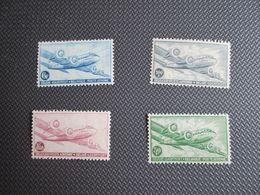 """PA 8/11* -  DC 4 """"Skymaster"""" - Lichte Plakkerrest - Airmail"""