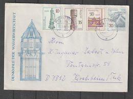 DDR / 1986 / Mi. 2993-2996 Kpl. Auf Satzbrief (CB53) - Cartas