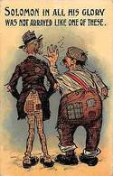 """Comic Humour """"Solomon In All His Glory"""" Pipes 1911 - Cartes Postales"""