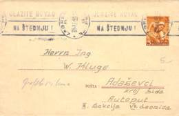 GS Cover Jugoslawien 1948 - Lettres & Documents
