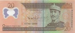 Dominica : 20 Pesos Oro 2009 PLASTIQUE UNC - Dominicana