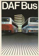 Brochure-leaflet DAF BUS Eindhoven MB200-230 SB-SBR Coach-tourbus-car De Tourisme-reisebus - Trucks