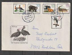 """DDR / 1985 / Mi. 2952-2956 """"Tiere"""" Kpl. Auf Satzbrief (CB55) - Cartas"""
