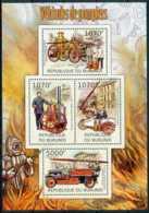 D - [32009]SUP//**/Mnh-c:18e-BURUNDI 2012 - Véhicules De Pompiers - Pompieri