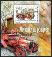 D - [32013]SUP//**/Mnh-c:17e-BURUNDI 2012 - Véhicules De Pompiers - Pompieri