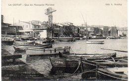 LA CIOTAT - Quai Des Messageries Maritimes    (1715 ASO) - La Ciotat