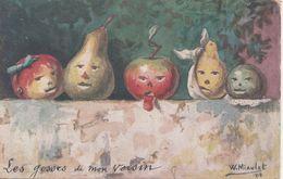 Carte Peinture Ou Illustrateur Par W.Miaulet - Malerei & Gemälde