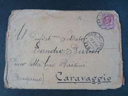 """94 ITALIA Regno Storia Postale-1908- """"Effigie"""" C. 10 POSTA MILITARE 119 (descrizione) - 1900-44 Victor Emmanuel III"""