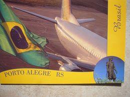 Avion / Airplane / TRANSBRASIL / Boeing B 737-300 / Seen At Porto Alegre - 1946-....: Ere Moderne