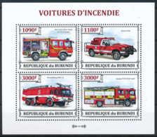 D - [33212]SUP//**/Mnh-c:18e-N° 2130/33 Yvert, Les Voitures D'incendie, Pompiers - Burundi