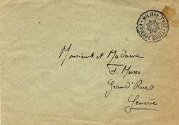 Enveloppe  MILITAR -POST / KAZERNE BASEL - Posta Militare