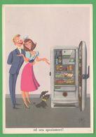 Pubblicitarie Pubblicità Frigo REX Cartes Postales Publicitaires Advertising Postcards Refrigerators Elettrodomestici - Trade
