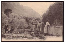 TOULON Les Lavandieres Au Béal Des Dardennes - Toulon