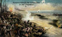 Schwere Kämpfe Der Verbündeten In Den Karpathen.   WWI WWICOLLECTION - Oorlog 1914-18