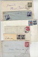 Yugoslavia Letters With Railway Postmarks Selection B200710 - 1931-1941 Regno Di Jugoslavia